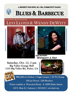 Blues and BBQ Poster