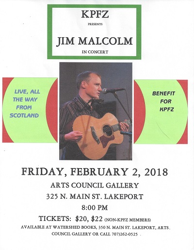 Jim Malcolm in Concert
